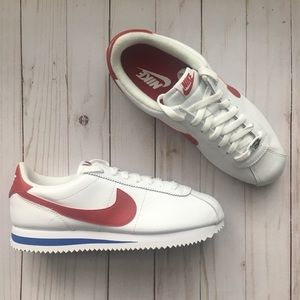 Cortez Basic Leather OG - Forrest Gump Red swoosh